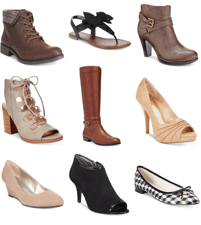 Find Macy's women's shoes at ShopStyle. Shop the latest collection of Macy's women's shoes from the most popular stores - all in one place. Get a Sale Alert Free Shipping $25+ at Macy's Marc Fisher Humor Over-The-Knee Boots $99 Get a Sale Alert Macy's The Original Duck Boot Women's Patty Loafers Women's Shoes $ $59 Get a Sale Alert.