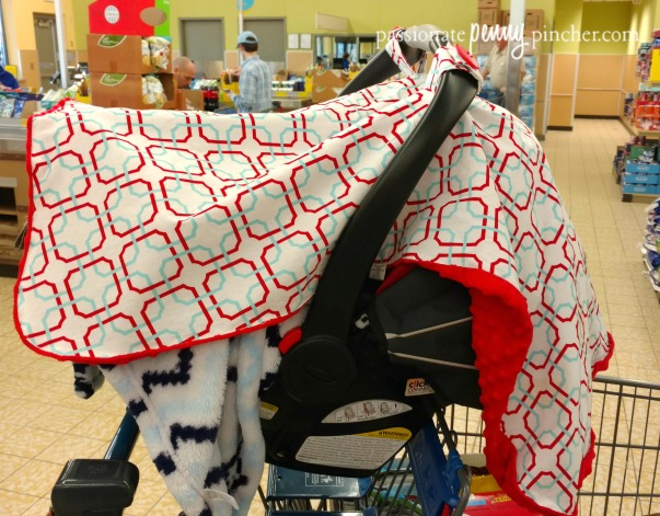 carseatcanopy & FREE Carseat Canopy Cover (Great for Fending off Pollen!)