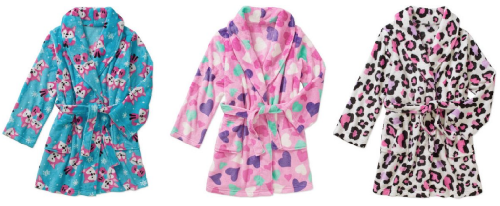 girls-plush-robes