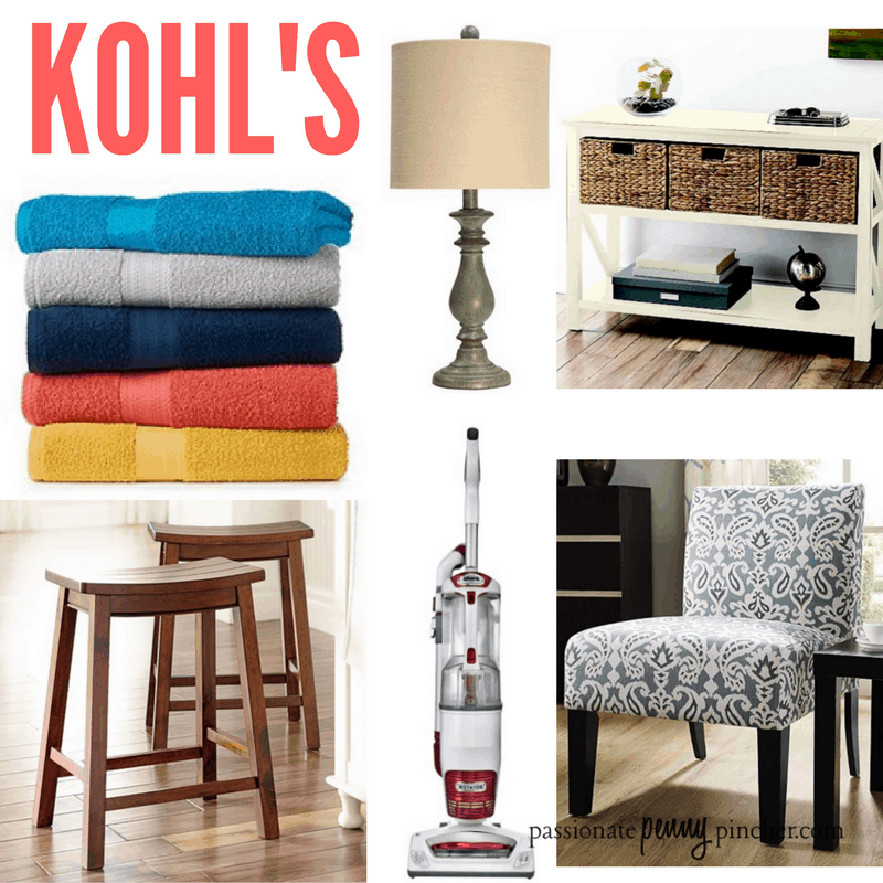 Kohl S Craziness Bath Towels Furniture Vacuum And More