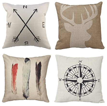 Decorative Pillow Covers as low as $1 01