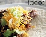 3 Ingredient Slow Cooker Beef Tacos
