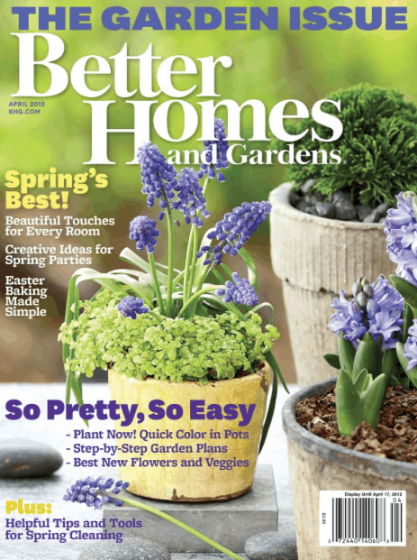 enjoy a free one year subscription to better homes and gardens while supplies last theres no credit card needed and you wont receive a bill - Free Better Homes And Gardens Magazine