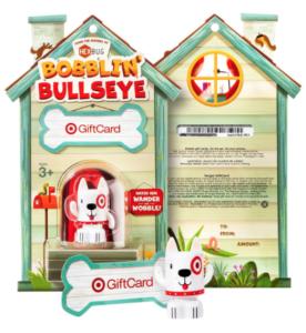 Bobble Bullseye target gift card
