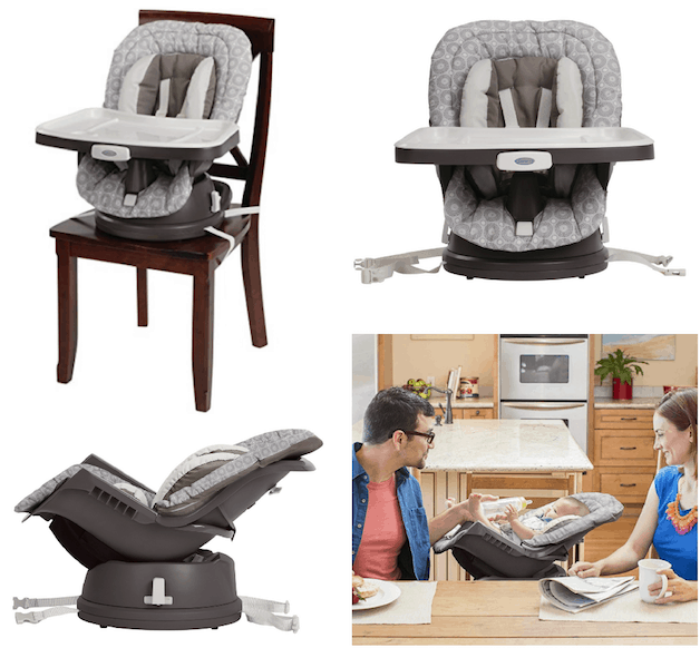 Graco Swivi Seat 3 In 1 Booster Chair $42.39 (Lowest Price)
