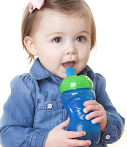 Nuby 10-Ounce Free Flow Easy Grip Cup