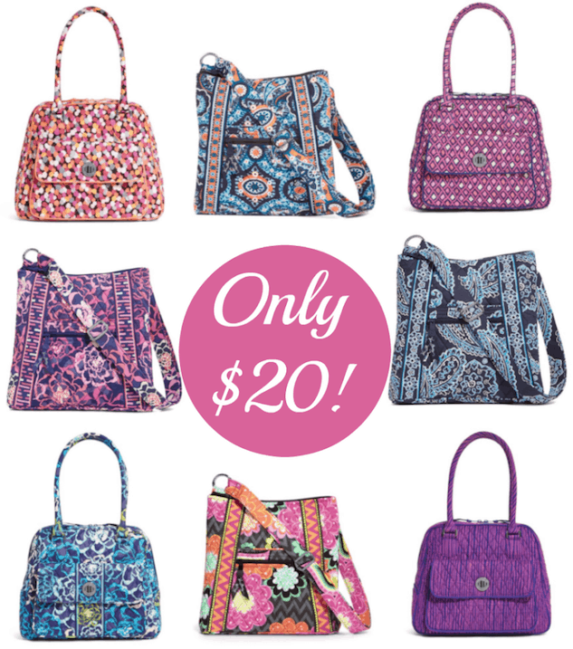 a6201844e Extra 20% Off Vera Bradley (Hipster Crossbody or Turnlock Satchel Just $20!)