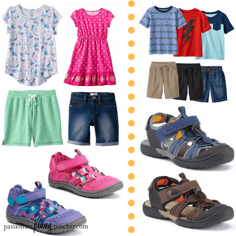 Kohls Baby Clothes Classy Kohl's Kid Sale Outdoor Sandals 6060 Jumping Beans Tops