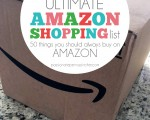 The Ultimate Amazon Shopping List: 50 Things You Should *Always* Buy On Amazon