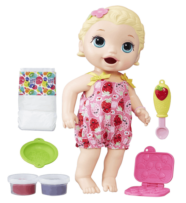 Baby Alive Super Snacks Snackin Lily 19 99 Lowest Price