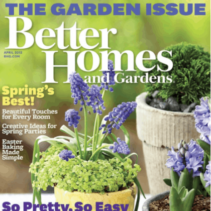 Free Better Homes And Gardens Subscription Passionate Penny Pincher