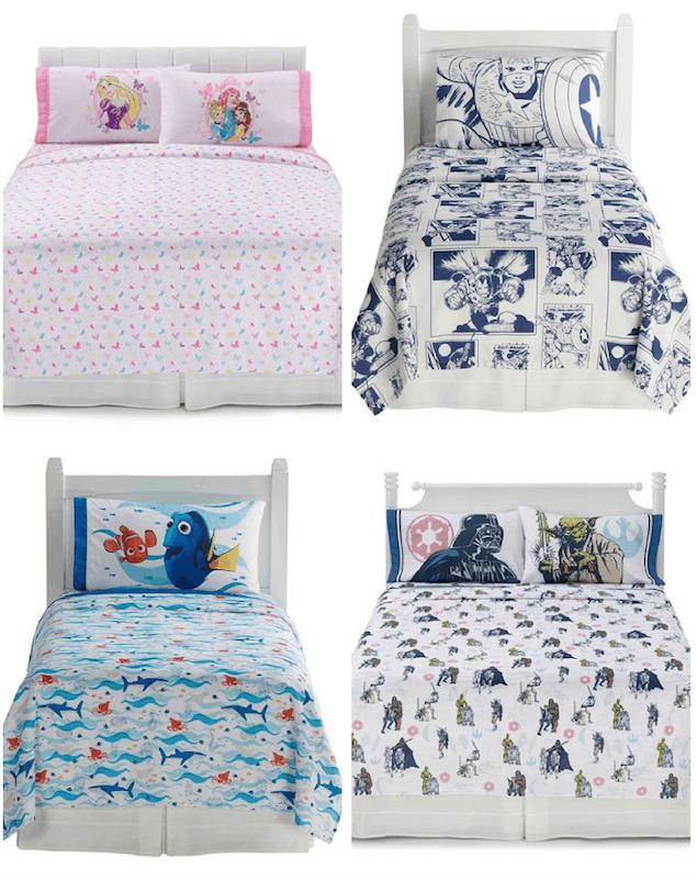 Kohl S Disney Sheet Sets Kids Pajamas Passionate Penny Pincher