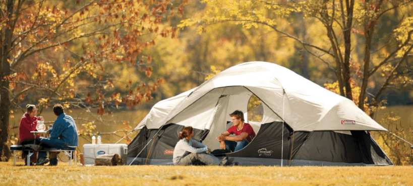 Or you can get this Coleman 8-Person Red Canyon Tent for $118.99! & Lowest Price Coleman Tenaya Lake 8-Person Fast Pitch Instant Cabin ...