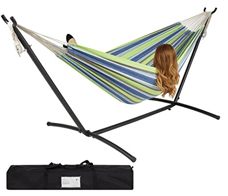 or you can get this double hammock with space saving steel stand and portable carrying case for  64 99  double hammock with stand just  59 99  lowest price    passionate      rh   passionatepennypincher