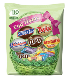 Mars 110-Piece Chocolate & More Spring Candy Mix