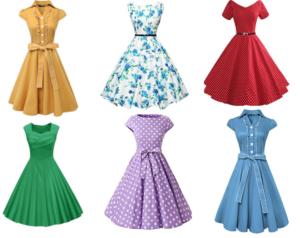 Retro 1950's Party Dresses