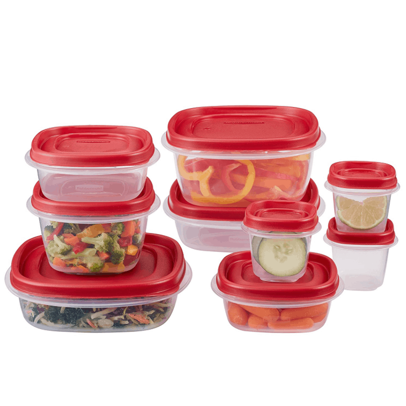 Rubbermaid Easy Find Lid 18 Piece Food Storage Container Set 661