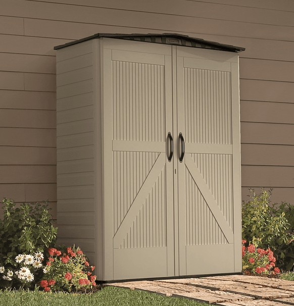 100 rubbermaid roughneck storage shed 5x4 arrow hamlet 10 for Cheap large garden sheds