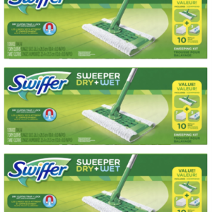 Swiffer Sweeper Cleaner Dry and Wet Mop Starter Kit