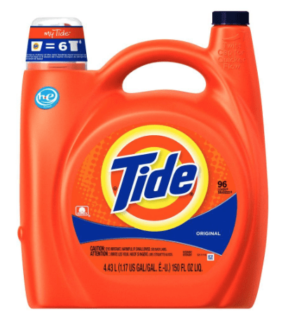 Tide he laundry detergent coupons