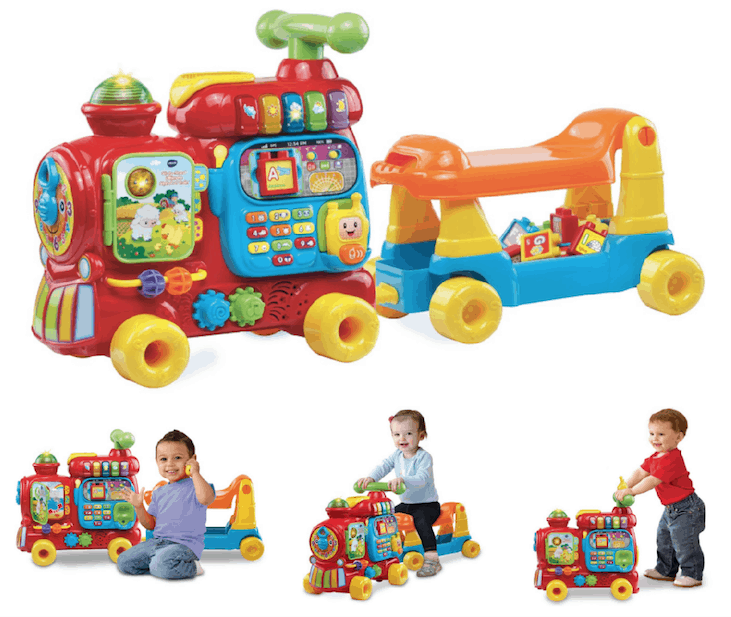 Vtech Sit To Stand Ultimate Alphabet Train 2299 Regularly 4499