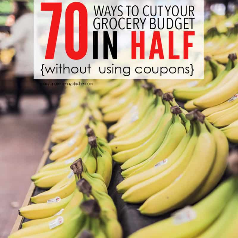 How to cut your grocery bill in half without coupons