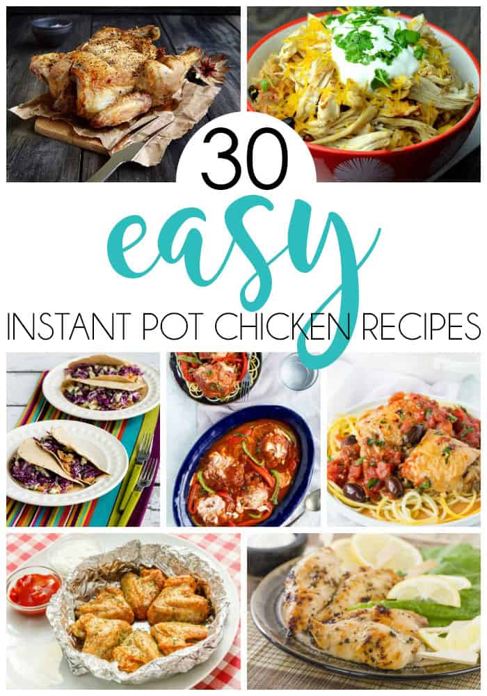 30 instant pot chicken recipes passionate penny pincher for Chicken recipes for the instant pot