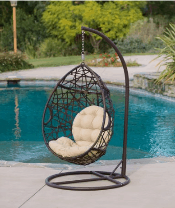 Merveilleux Target Just Dropped The Price On This Popular Christopher Knight Home  Wicker Patio Tear Drop Swinging Chair To $292.49 When You Use Coupon Code  FURNITURE At ...