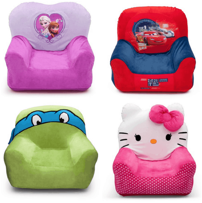 Right Now Walmart Has Several Of These Fun Delta Children Character Club Chairs Marked Down To 1099 Would Be Cute And Comfy In Your Kiddos