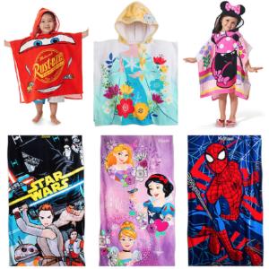 Disney Hooded or Regular Beach Towels
