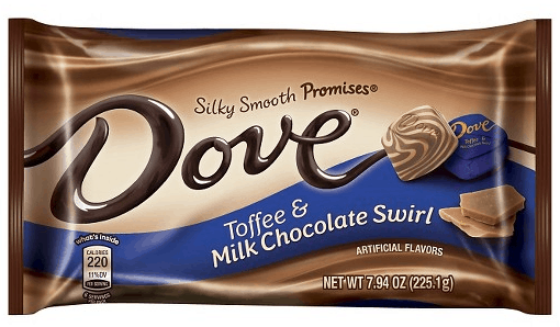 Dove Chocolate Toffee Promises