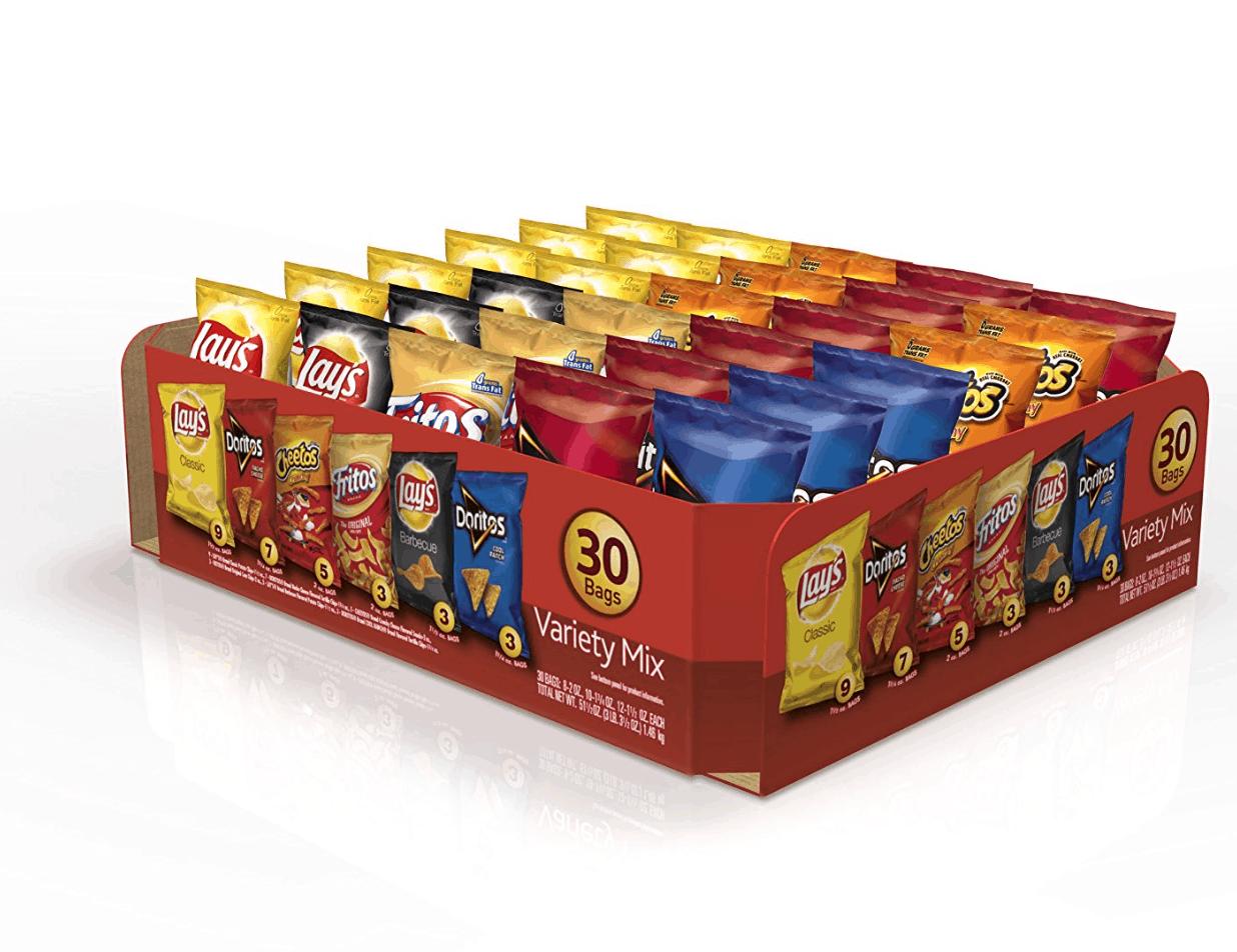 Frito Lay Variety Pack As Low As 24 Per Bag Shipped To