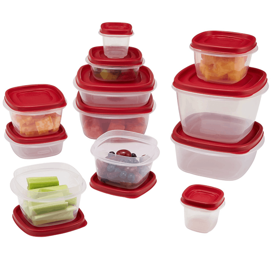 Rubbermaid 24-Piece Easy Find Lid Container Set1