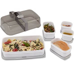 Rubbermaid Fasten + Go Lunch Containers Entree Kit