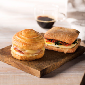 Starbucks Pastries Warm Sandwiches