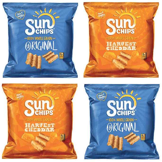 Stock Up Price On Sunchips 40 Count Variety Pack Passionate Penny