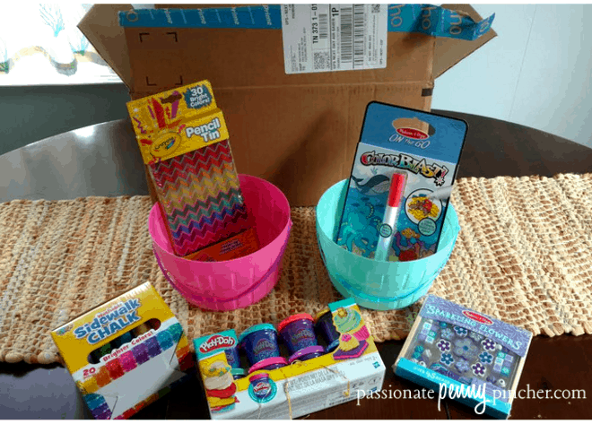 10 amazon easter basket fillers 10 basket ideas passionate heres what i ordered to make these inexpensive easter baskets negle Images