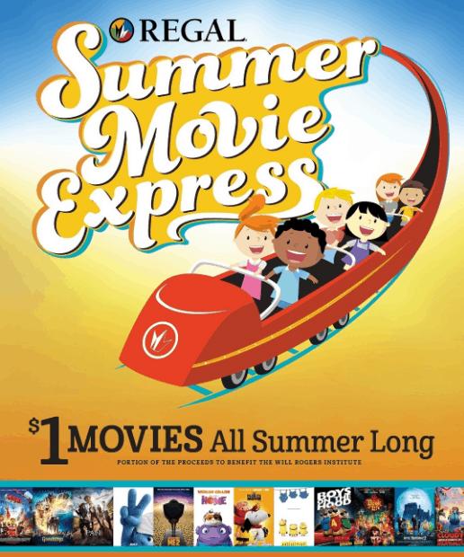 regal kids summer movie program