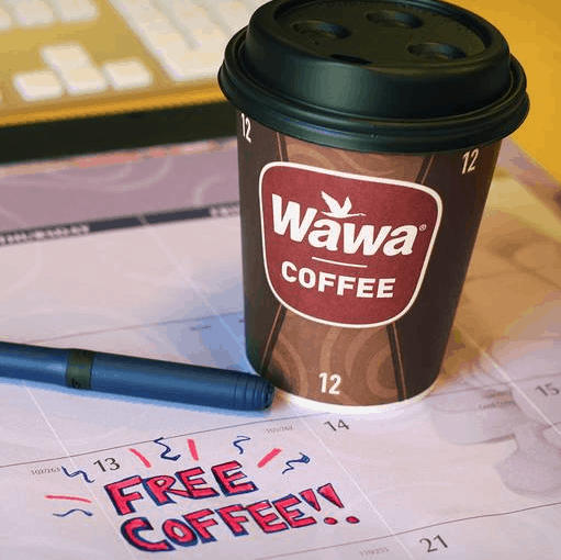photograph relating to Wawa Coupons Printable referred to as Countrywide Espresso Working day Freebies 2019