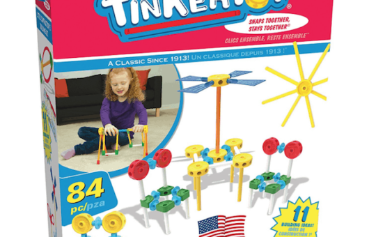 Tinkertoy 84-Piece Little Constructor's Building Set