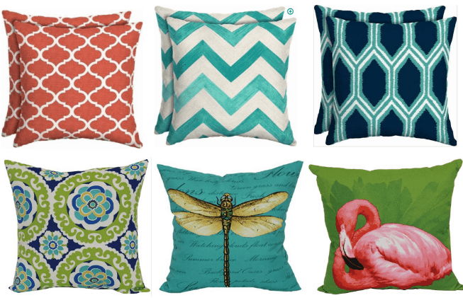 Mainstays Outdoor Throw Pillows Only 5 Passionate Penny Pincher