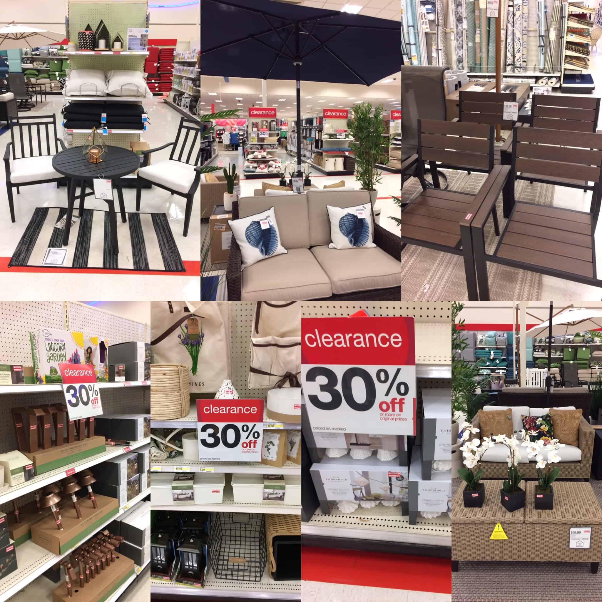 Outdoor Furniture Clearance