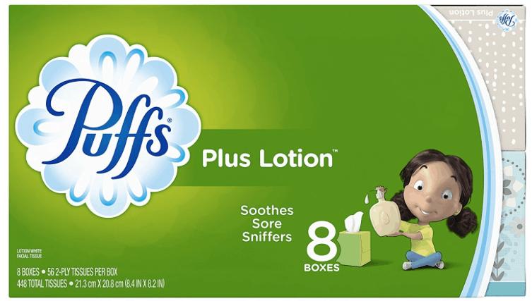 Puffs plus lotion printable coupon