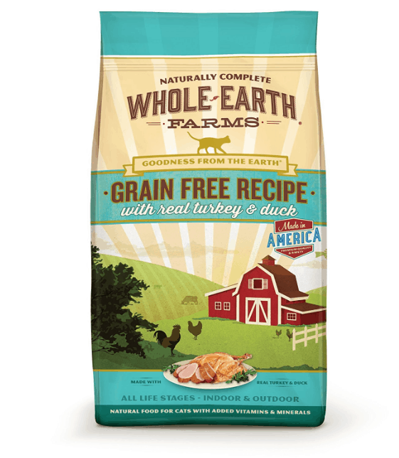 Whole Earth Farms Cat Food Coupon