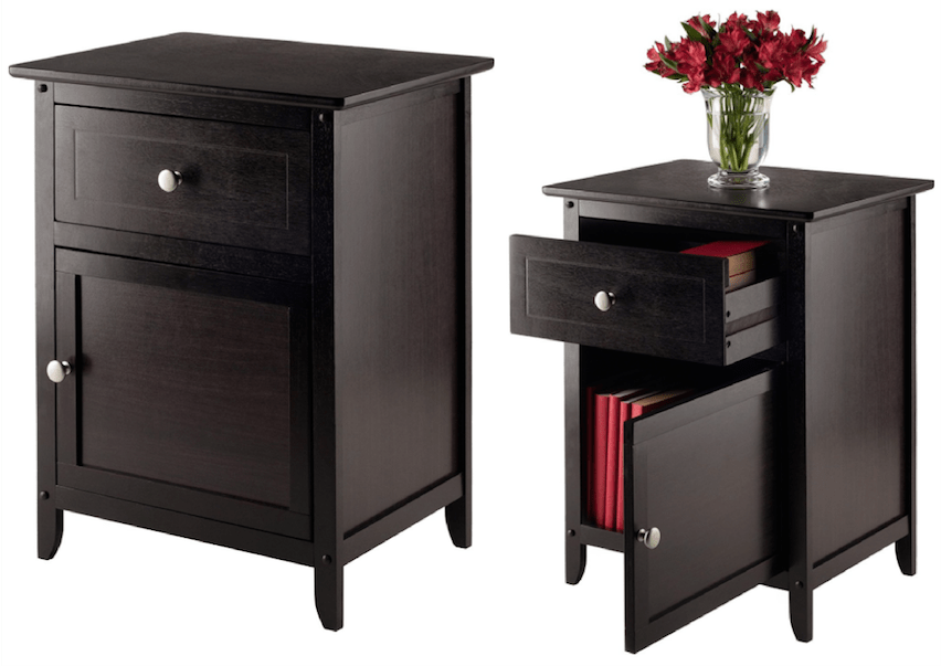 Winsome Wood Beechwood End/Accent Table $36.76 (Lowest Price)
