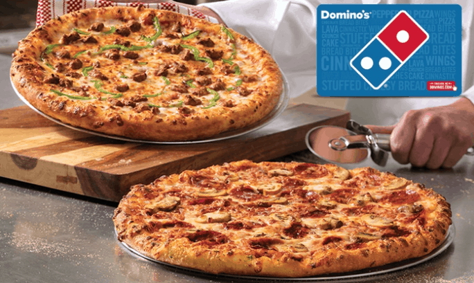 $10 Domino's Groupon Just $5 for Some!