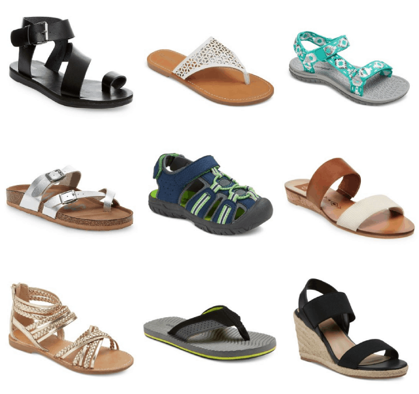 39a7f36aaf12 Need some new flip flops or sandals for the summer  Today only (6 17)