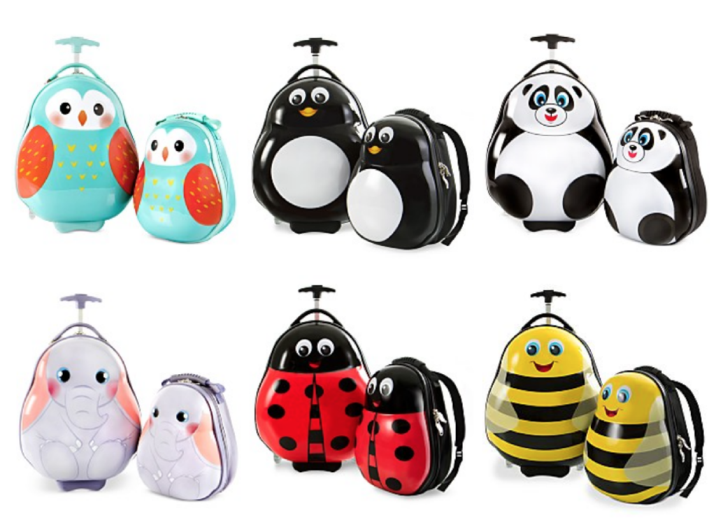 Online promo codes saving printable coupons or get these adorable 2 piece animal luggage sets for 4999 with the code hour48 at checkout fandeluxe Choice Image