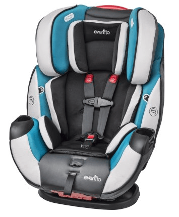 evenflo symphony dlx all in one car seat passionate penny pincher. Black Bedroom Furniture Sets. Home Design Ideas