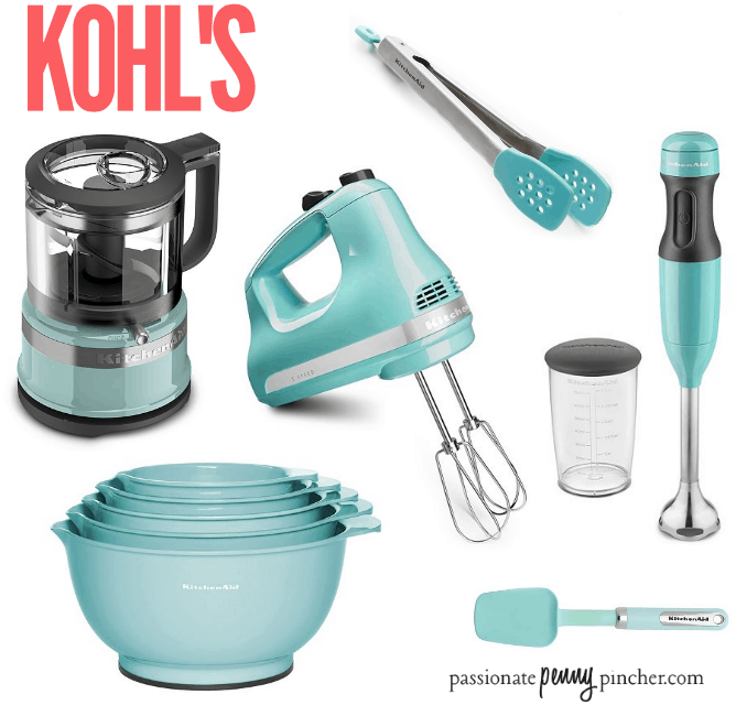 Kohl 39 S Kitchenaid Hand Mixer Mixing Bowl Set And More Passionate Penny Pincher